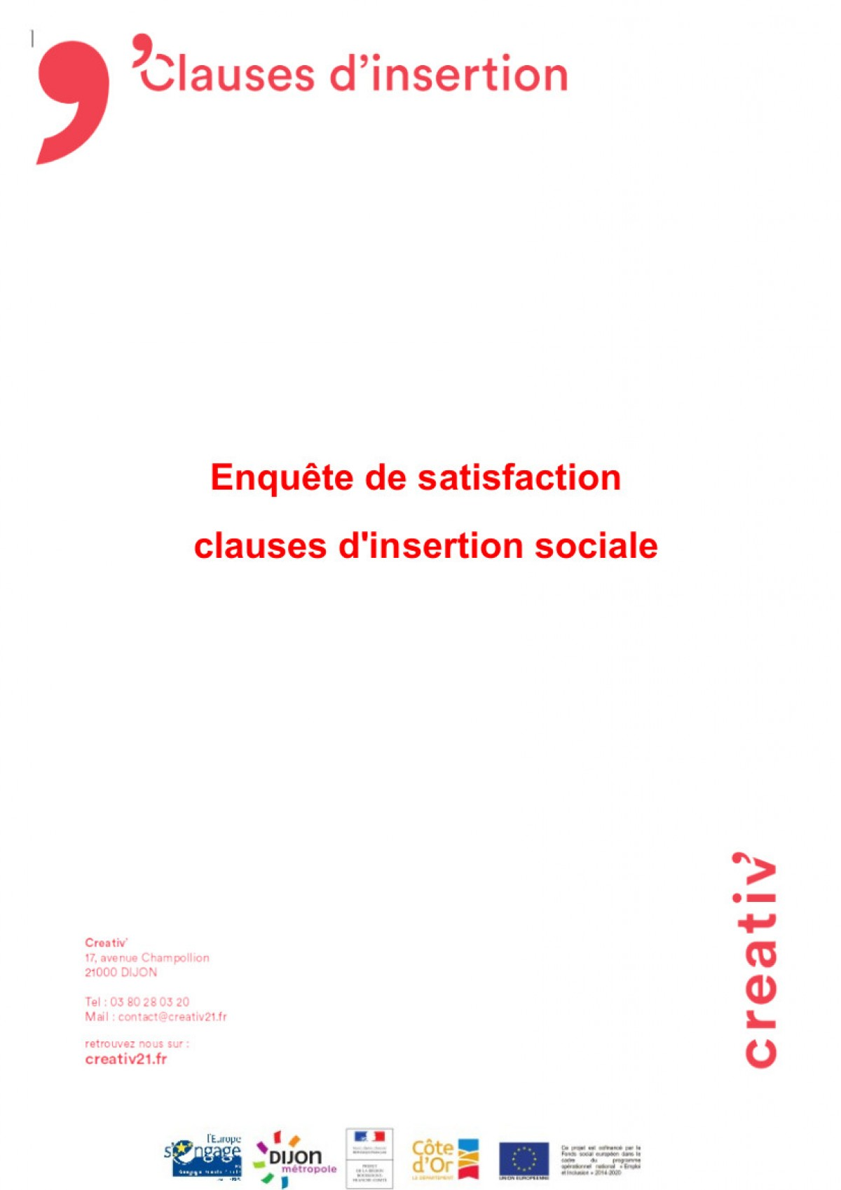 Clauses insertion